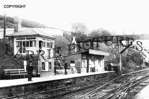 Flex Bourton, Station 1918