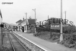 Blue Anchor, Station c1950