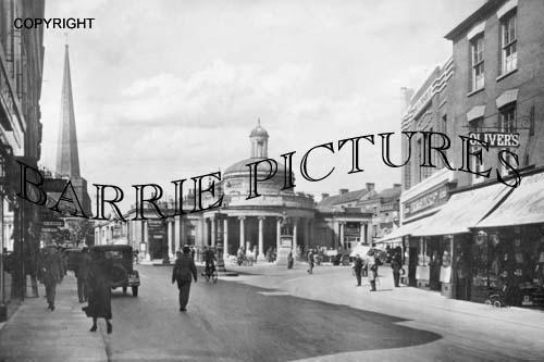 Bridgwater, Cornhill c1930