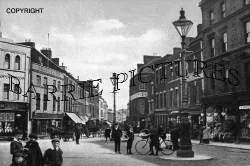 Bridgwater, Fore Street 1907