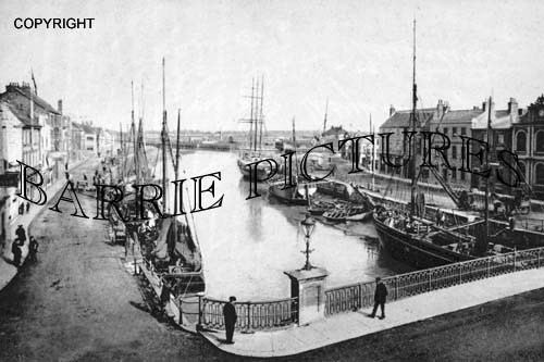 Bridgwater, River Parrett 1906