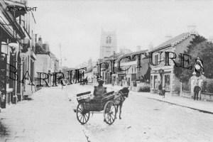 Keynsham, High Street c1895