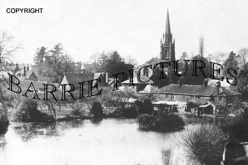 Castle Cary, Park Pond c1920