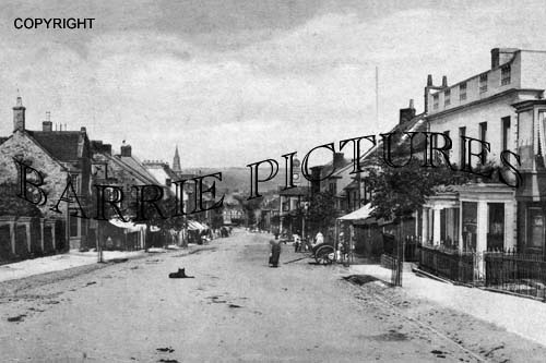 Chard, High Street 1908