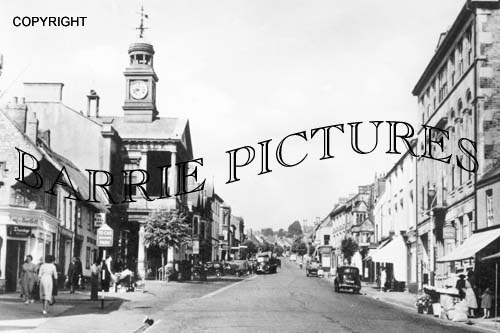 Chard, Town Hall, Fore Street c1950