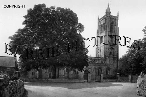 Cheddar, The Church 1900