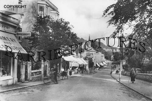 Clevedon, Hill Road c1905
