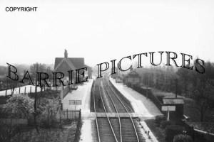 Congresbury, Station c1910