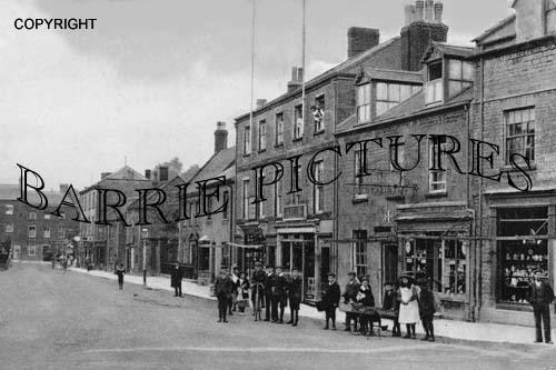 Crewkerne, Market Street 1908