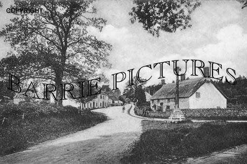 Crowcombe, Village 1904