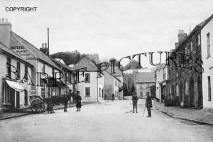 Dulverton, Fore Street 1921