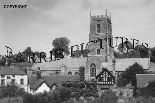 Dunster, Church c1930