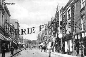 Glastonbury, High Street 1920