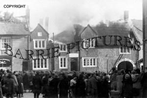 South Petherton, Bell Inn Fire St James Street 1924