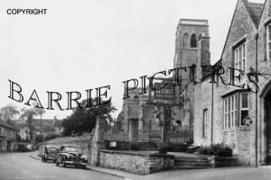 Wedmore, Church Street 1955