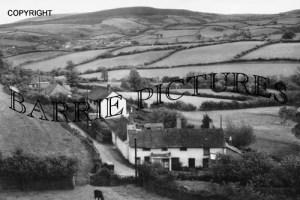 Wootton Courtenay, Croydon Hill c1945