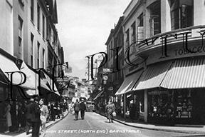 Barnstable, High Street c1940