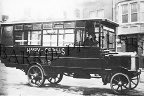 Barnstable, Bus c1900