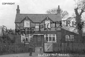 Bartley, Post Office c1920