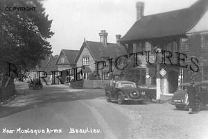 Beaulieu, nr Montaque Arms c1945
