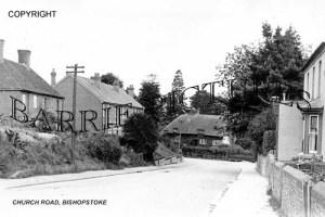 Bishopstoke, Church Road c1940