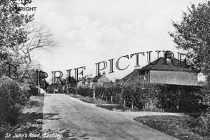 Bashley, St Johns Road c1930