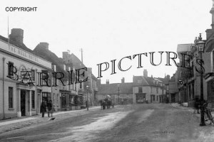 Alresford, the Bell Hotel c1900