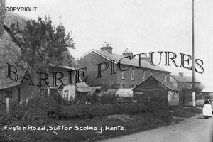Sutton Scotney, Exeter Road c1920