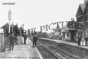 Itchen Abbas, Station c1920