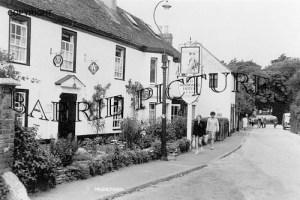 Mudeford, The Moorings Hotel c1960