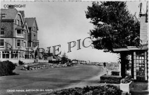 Barton on Sea, Grand Parade c1950