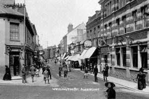 Aldershot, Wellington Street c1910