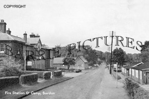 Bordon, Fire Station and Camp c1950