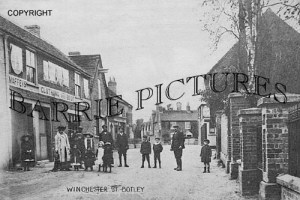 Botley, Winchester Street c1910
