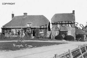 Burgate, Cross c1930