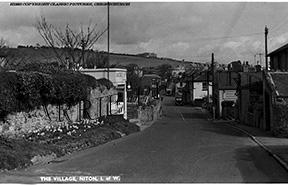 Niton, The Village c1950