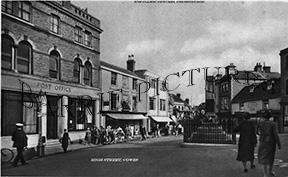 Cowes, High Street c1935