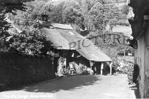 Branscombe, The Old Forge c1910