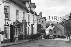 Chagford, Mill Street c1950