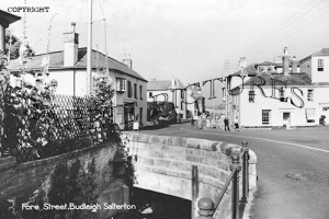 Budleigh Salterton, Fore Street c1960