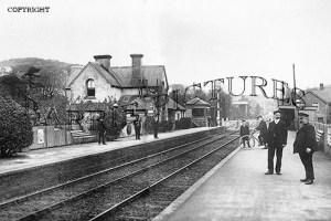 Braunton, Railway Station v1910