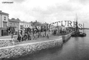 Bideford, the Quay c1900