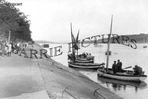 Bideford, Riverside Promanade c1920
