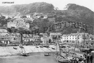 Clovelly, Harbour c1900