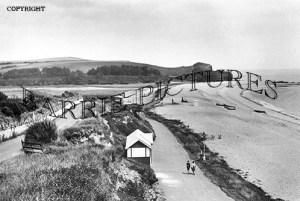 Budleigh Salterton, the Parade c1945