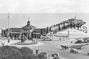 Bournemouth, Pier c1950