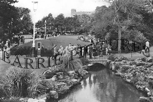 Bournemouth, Central Gardens c1950