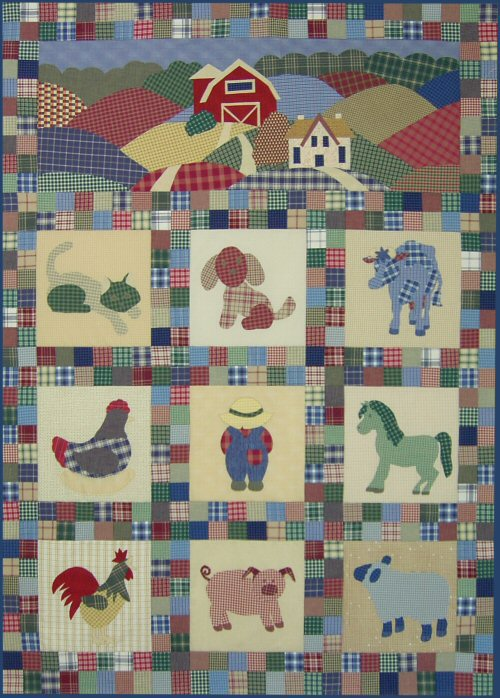 Free Cat Quilt Pattern - [phpzon]Quilt Applique Pattern, 6,