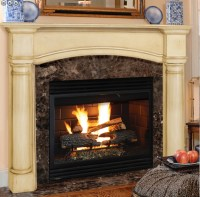 Standard Size Fireplace Mantels | Victorian Fireplace Shop
