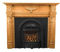 Small & Vintage Style Fireplace Mantels | Victorian ...
